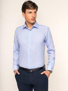 Eton Koszula 100000000 Niebieski Slim Fit