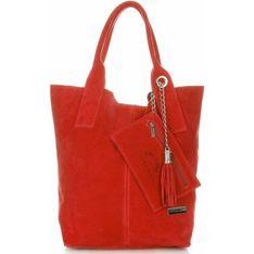 Shopper bag Vittoria Gotti czerwony