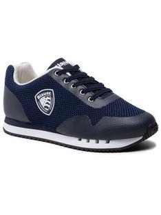 Blauer Sneakersy S1DASH01/MES S Granatowy
