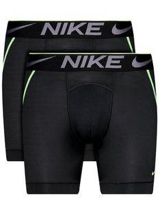 Nike Komplet 2 par bokserek Breathe Micro 0000KE1020 Czarny
