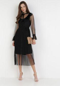 Czarna Sukienka Zellraya