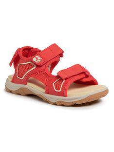 Jack Wolfskin Sandały Taraco Beach Sandal K 4039531 S Czerwony