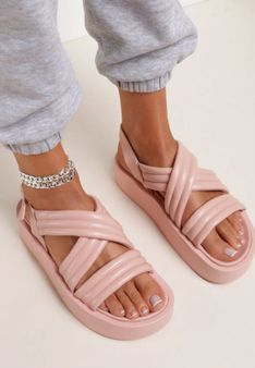 Różowe Sandały Thessawai