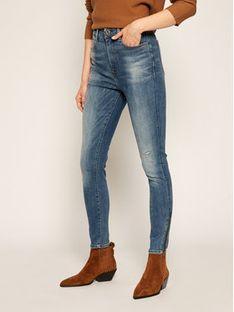 G-Star Raw Jeansy Super Skinny Fit Ankle D17223-9136-B823 Granatowy Super Skinny Fit