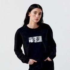Cropp - Bluza z fotonadrukiem - Czarny
