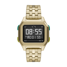 Zegarek ARMANI EXCHANGE - Shell AX2950 Gold/Gold