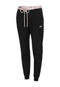 4F - Spodnie treningowe - czarny