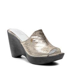 Klapki SIMEN - 4632A Złoty