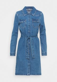 ONLY Tall - Sukienka jeansowa - niebieski denim