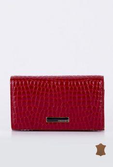 Średniej wielkości portfel z klapą