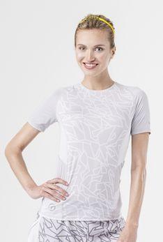 T-shirt szary / contour