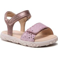 Sandały dziecięce Geox z gumy na lato