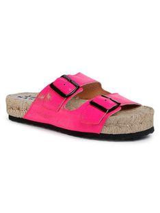 Manebi Espadryle Nordic Sandals F 9.1 R0 Różowy
