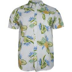 Brave Soul koszula męska z krótkimi rękawami