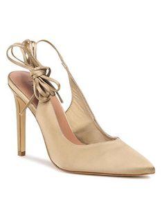 TWINSET Sandały Decolette 211TCT116 Beżowy
