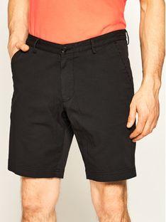 Boss Szorty materiałowe 50406679 Czarny Slim Fit