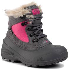 Buty zimowe dziecięce The North Face bez wzorów