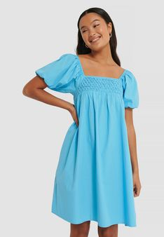 NA-KD - Sukienka letnia - jasnoniebieski