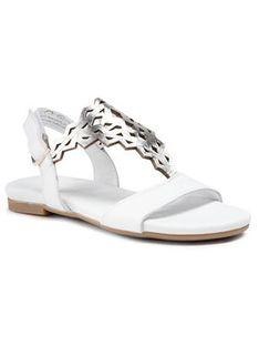 Tamaris Sandały 1-28184-26 Biały