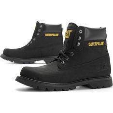 Buty zimowe męskie Caterpillar militarne sznurowane
