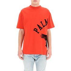 T-shirt męski Palm Angels z krótkim rękawem