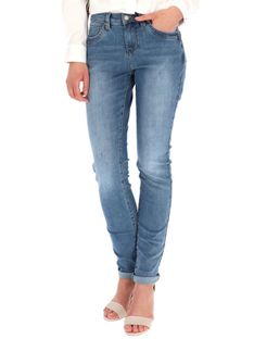 Jeansy Skinny Fit Red Button 3808.JIMMY.L.BLUE