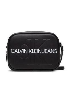 Calvin Klein Jeans Torebka Camera Bag K60K607202 Czarny