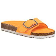 Klapki BIG STAR - FF274794 Orange/Orange