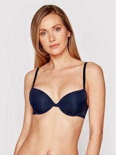 Emporio Armani Underwear Biustonosz push-up 164394 1P284 00135 Granatowy
