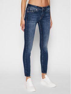 Calvin Klein Jeans Jeansy Skinny Fit Ckj 011 J20J214098 Granatowy Skinny Fit