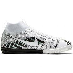 Buty piłkarskie Nike Mercurial Superflay 7 Academy Mds Ic Jr BQ5529 110 biały, biały, czarny białe