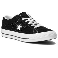 Tenisówki CONVERSE - One Star Ox 158369C Black/White/White