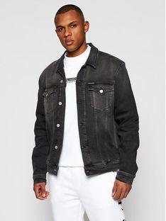 Calvin Klein Jeans Kurtka jeansowa J30J317247 Szary Slim Fit