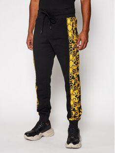 Versace Jeans Couture Spodnie dresowe A2GWA1F9 Czarny Regular Fit