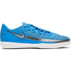 Buty piłkarskie Nike React Phantom Gt Pro Ic M CK8463 400 niebieskie niebieskie