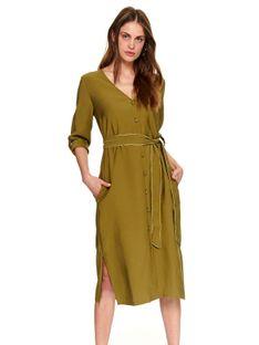 Sukienka damska z wiązaniem