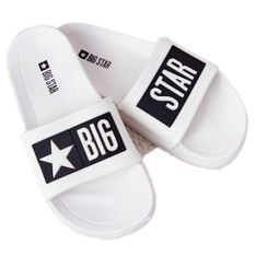 Klapki Dziecięce Big Star DD374151 Białe