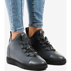 Buty sportowe damskie  czarny