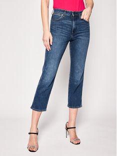Wrangler Jeansy Regular Fit The Retro W22AVG081 Niebieski Straight Fit
