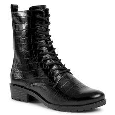 Trapery CAPRICE - 9-25101-25 Black Croco 014