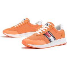 Tommy Hilfiger buty sportowe damskie sneakersy wiązane bez wzorów na platformie