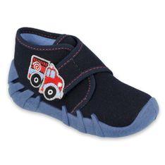 Befado obuwie dziecięce 523P017 granatowe niebieskie