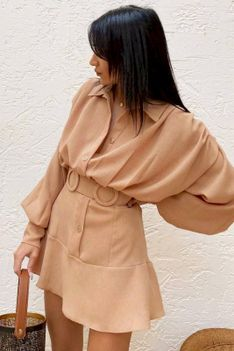 Sukienka VISARA BEIGE