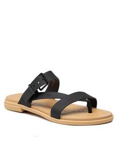 Crocs Japonki Tulum Toe Post Sandal W 206108 Czarny