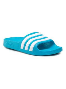 adidas Klapki adilette Aqua K FY8071 Niebieski