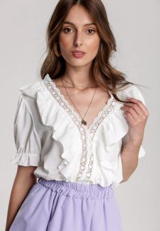 Biała Bluzka Luciani