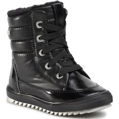 Buty zimowe dziecięce Bartek na zimę sznurowane