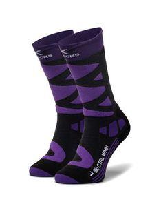 X-Socks Skarpety Wysokie Damskie Ski Control 4.0 XSSSKCW19W Fioletowy