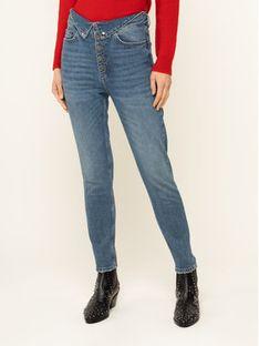 The Kooples Jeansy Slim Fit FJEA19018J Granatowy Slim Fit