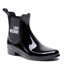 Kalosze LOVE MOSCHINO - JA21173G1DIR3000  Nero